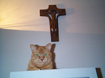 Oliver with Crucifix